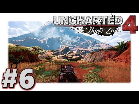 UNCHARTED 4 Walkthrough Part 6 :: Madagascar is Beautiful (Let's Play Uncharted 4 Gameplay)
