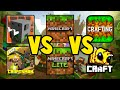 Craftsman VS Minecraft PE 1.17 VS Crafting And Building VS Bee Craft VS Games Like Minecraft PE