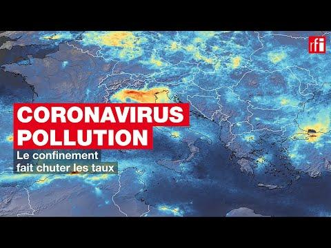 Coronavirus - pollution: le confinement fait chuter les taux