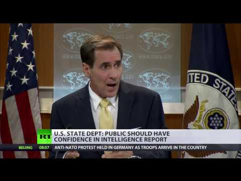 Revealing evidence of Russia's hacking would be 'irresponsible' – US State Department