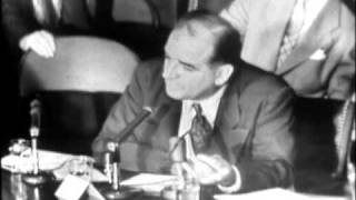 Senator McCarthy Claims Communist Infiltration
