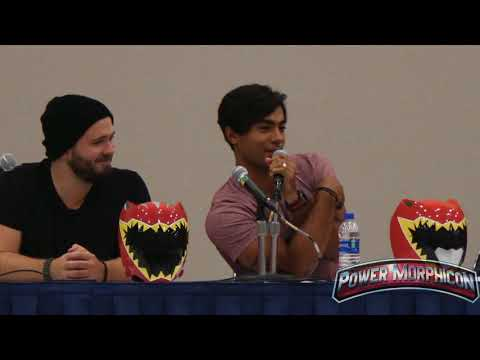 FOREVER REDS PANEL AT POWER MORPHICON 2018