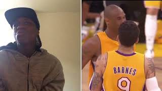 Kobe Bryant's Top 25 he's hard to believe shots reaction