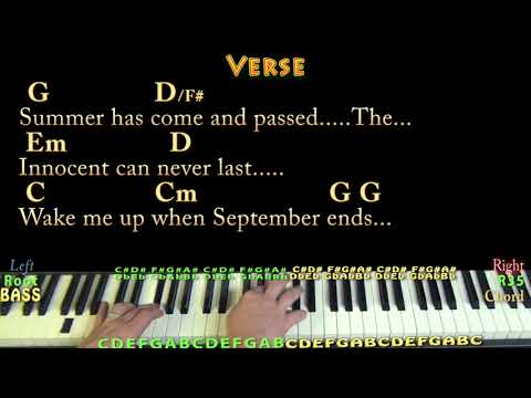 85 Mb Wake Me Up When September Ends Sheet Music Free Download Mp3