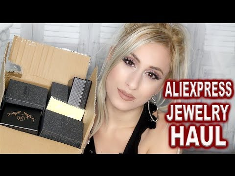 ALIEXPRESS JEWELRY HAUL !