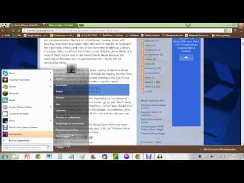 [TUTO] Comment Installer Windows Movie Maker Sur Windows 7 + Plusieurs Choix à Faire [HD]
