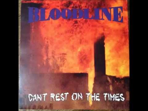 Bloodline 'Can't rest on the times' CD/LP Nemesis Recs 1992