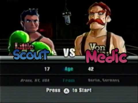 Scout's Punch Out!! - Von Medic  a.k.a.  Von Kaiser the Medic