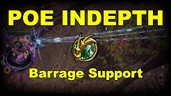 Barrage Support Overview Patch 3.9 | Path of Exile In Depth