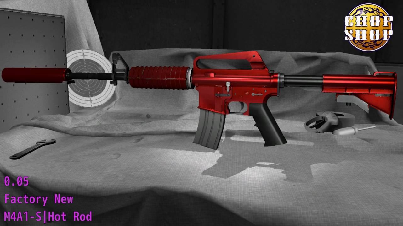 M4A1 S Hot Rod Wear/Float