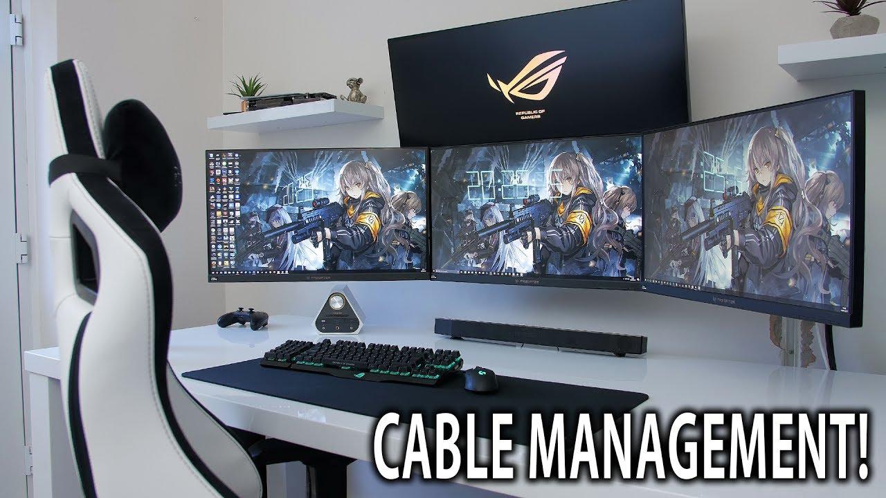setup refresh episode 8 - cable management  vlog