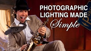 Photographic Lighting Made Simple! DSLR 3 Light Portrait Lesson Part One
