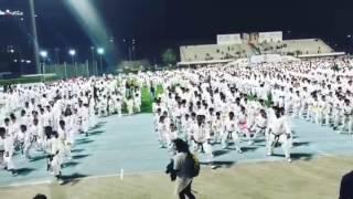 Guinness record attempt of karate kata at dubai