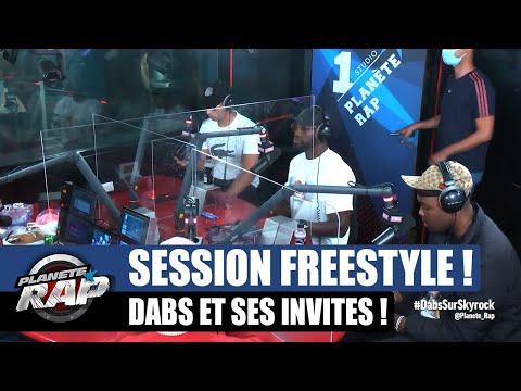 Youtube: Dabs – Session freestyle avec Nahir, Kaza, RH & K Ido! #PlanèteRap