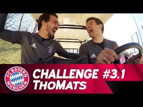 ThoMats #3 - Part 1 | Football Golf Challenge | Mller vs. Hummels