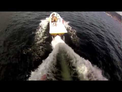 Parasailing with the GoPro HD