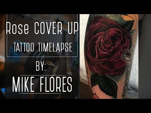 Cover Up Tattoo Time lapse - Mike Flores