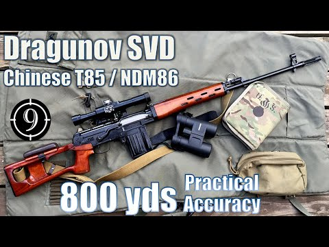 Dragunov SVD (Chinese Type 85/NDM86) To 800yds: Practical Accuracy