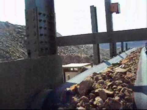Skalper Conveyor Belt Cleaner in applicaiton : Hard Rock Mining