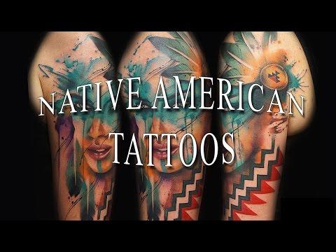 0031e273f Native American Tattoos - YouTube