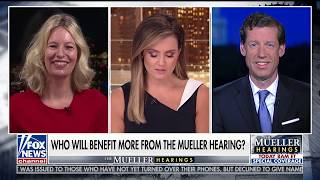 Kelly Hyman appears on Fox & Friends First discussing the Mueller Hearings.