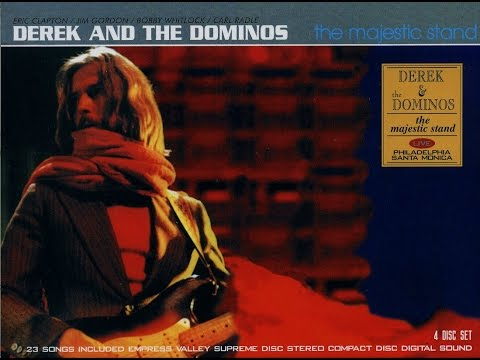 Derek and the Dominos- Civic Auditorium, Santa Monica, Ca October 16 & November 20, 1970
