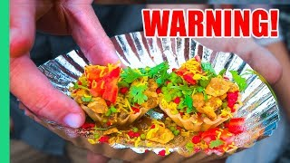 EXOTIC Indian Food Tour in Jodhpur! NO ONE Should Have To Eat This…Girlfriend Chaat Challenge!
