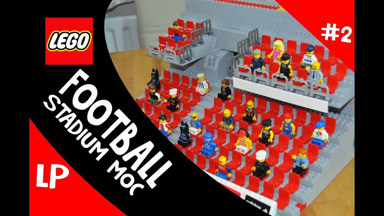 how to build a lego soccer stadium