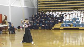 Kyudo - the sound of an arrow being released from bow