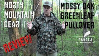 North Mountain Gear- Mossy Oak Greenleaf Pullover- REVIEW