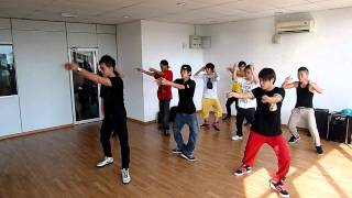 K-pop class at Rhythmusic Dance Studio by Christopher wong