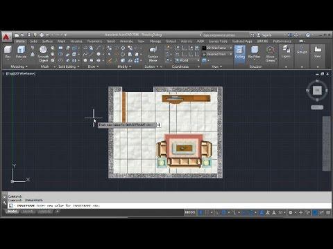 Autocad Floor Plan Design Image Youtube