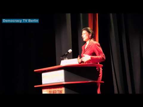 Sahra Wagenknecht: Krieg ist Terror - Intern. Rosa-Luxemburg-Konferenz 2016 Berlin