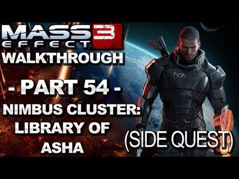 Mass Effect 3 - Nimbus Cluster: Library of Asha - Walkthrough (Part 54)