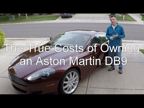 The True Cost of Owning an Aston Martin DB9