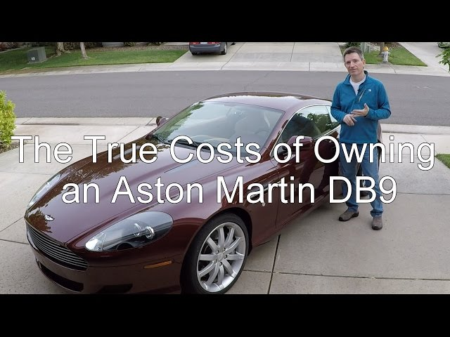The True Costs Of Owning An Aston Martin DB Aston - How much is an aston martin db9