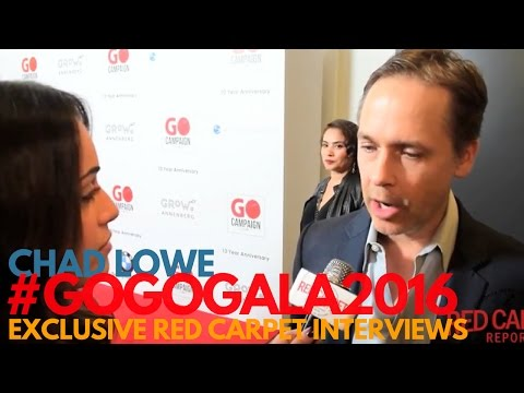 Chad Lowe ed at 10th GO Campaign Gala GOGOGala2016 GOCampaign WeAskMore