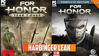 For Honor HUGE Leak - Weapons For 2019 Year of the Harbinger Heroes - Warhammer - Sword and Shield