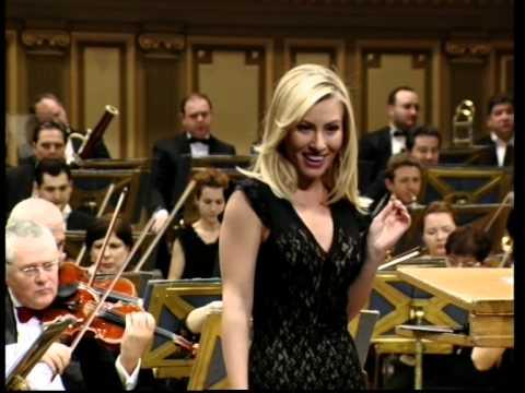 JOHANN STRAUSS - arie din opereta LILIACUL - IRINA BAIANT