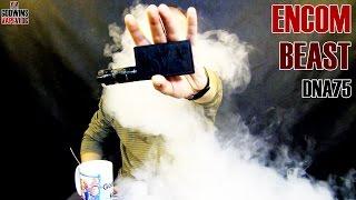 Elektronická cigareta / DNA mod - Encom Beast DNA75 - Review (CZ)