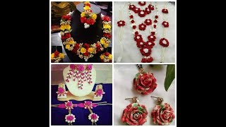 Bridal floral jewellery 🌹🌹🌹 design collection for all marriage function...