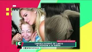 El último adiós a la madre de Gaby Pazmiño