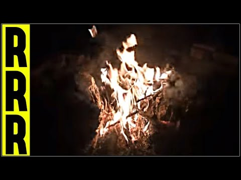 CAMPFIRE FIRE SOUNDS + FOREST PEEPERS = 10 Hours Nature Sounds FIREPLACE CRACKLING RELAXATION SOUNDS