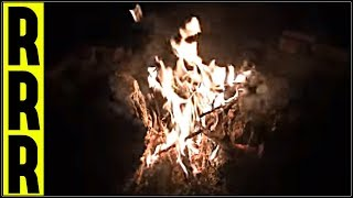 ✪ MIDNIGHT FIRE & FOREST PEEPERS ✪ 10 Hours of Nature, Relaxation, Calming, Sleep, Fireplace