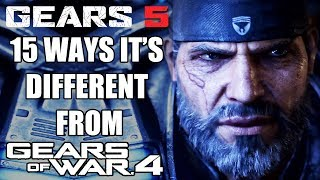 Gears 5 - 15 Ways It's Different From Gears of War 4