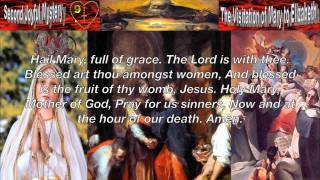 Pray the Joyful Mysteries of the Holy Rosary