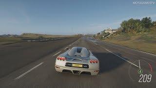 Forza Horizon 4 - 2002 Koenigsegg CC8S Gameplay