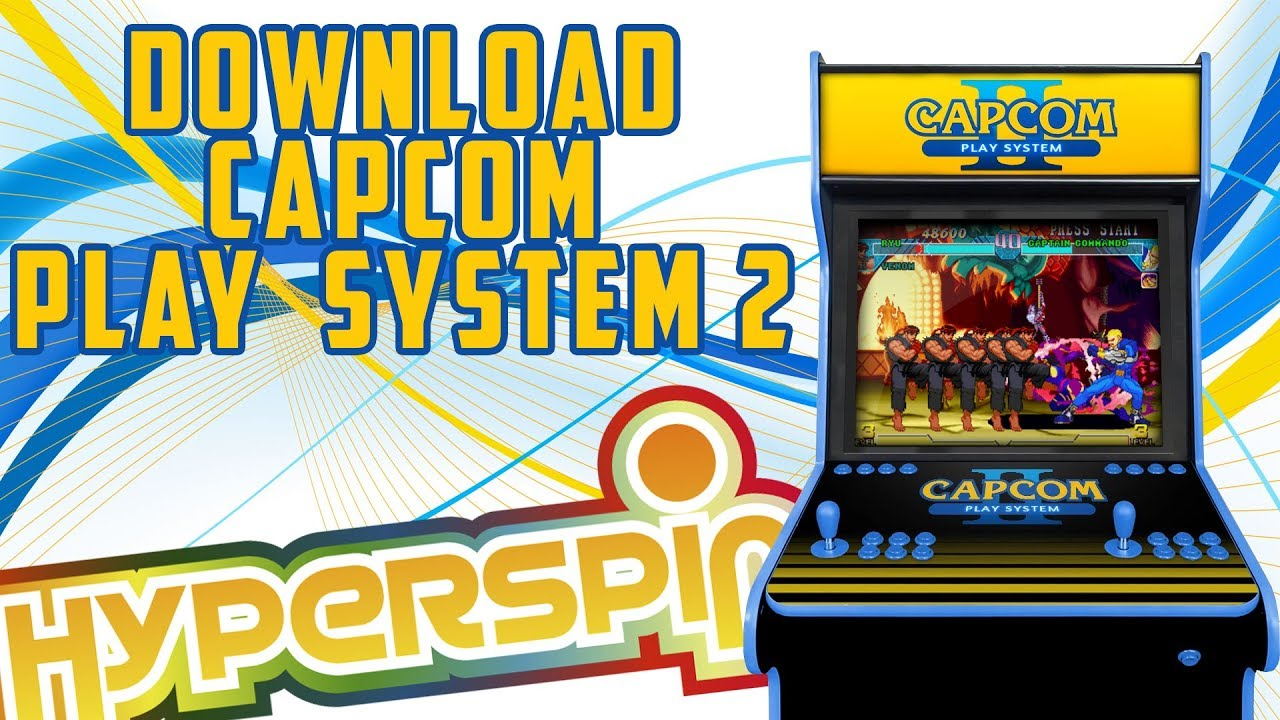 HYPERSPIN / PACK CAPCOM PLAY SYSTEM 2 / CPS2