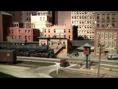 Model Train Layout B&O