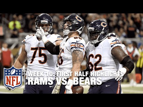 Jay Cutler's on Fire as Bears Offense Explodes in 1st Half Against the Rams! | Bears vs. Rams | NFL